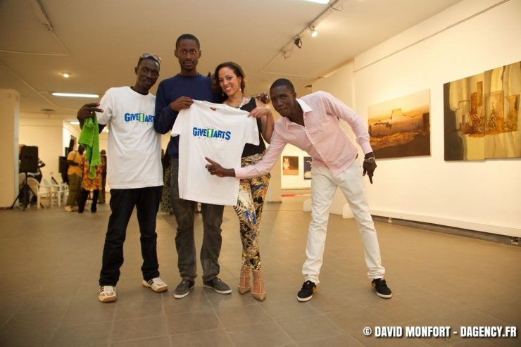Jacqueline Cofield, Give1Arts, National Gallery Dakar