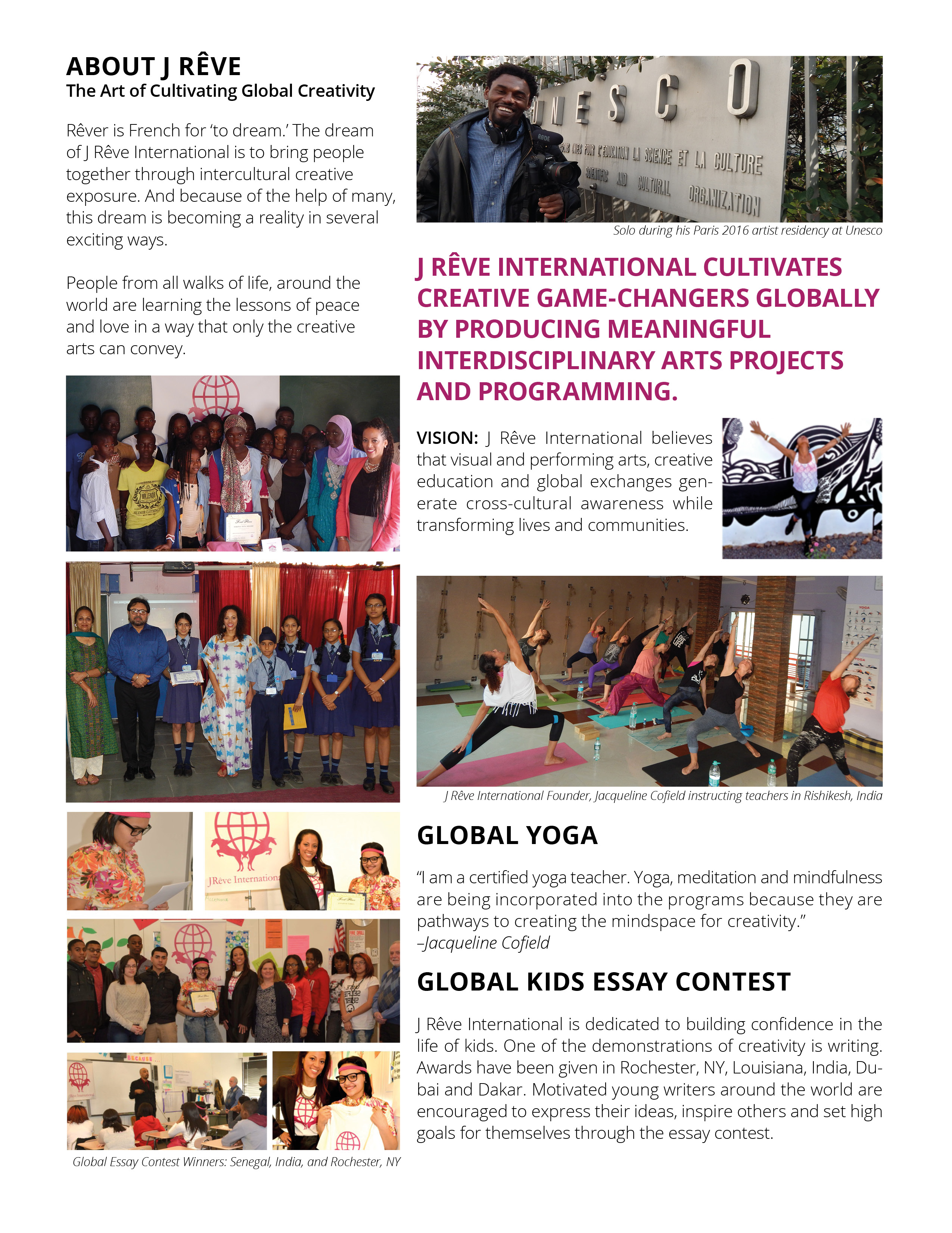 j r ecirc ve international summer newsletter j r ecirc ve international llc j reve newsletter v4
